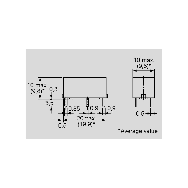 G6B-1114P-US 24DC, Printrelais 5A, 1 Schließer, Serie G6B von Omron ...