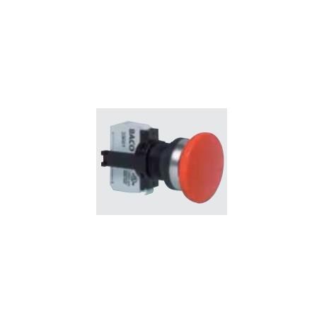 Mushroom head buttons, IP66-series