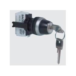 Knebelschalter, mit Schlüssel, IP66-Serie
