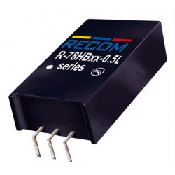 DC/DC-converter modules series R-78HB-0.5