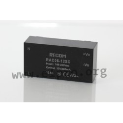 LED-switching power supplies series RAC06-12SC