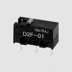 micro switches by Omron series D2F