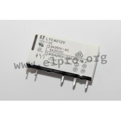 PCB relays series FTR-LY