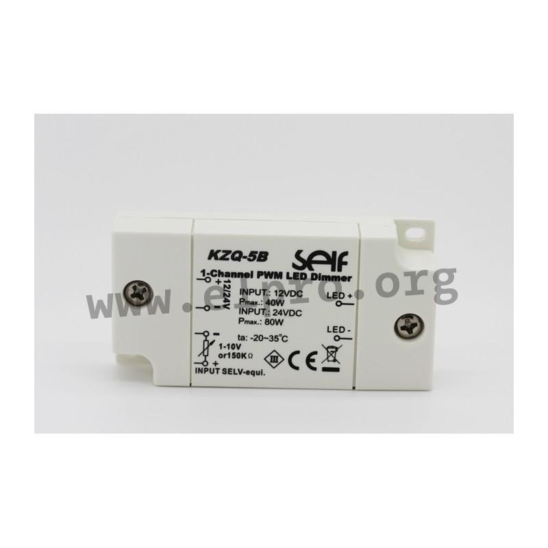 KZQ-5B, PWM dimmer, 80 W, by Self - elpro Elektronik
