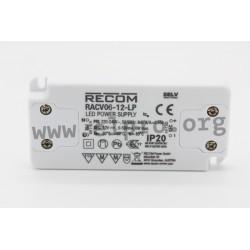 Recom RACV06-LP series