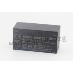 Recom RAC10-K/277 series