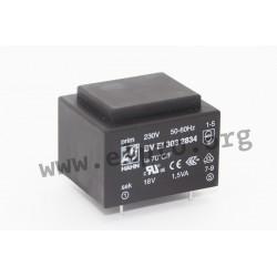 Hahn 1,5VA print transformer