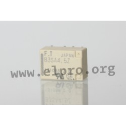 dimensions, pin board and dircuit diagram FTR-B3S_