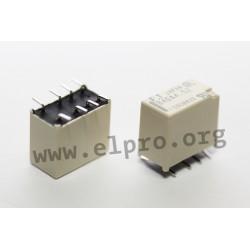 dimensions, pin board and circuit diagram FTR-B4G_