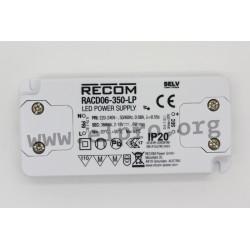 Recom RACD06-LP series