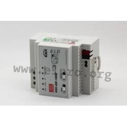 KNX-40E-1280D, MeanWell, Mean Well DIN rail switching power supplies, 40W, KNX standard, KNX-40E series