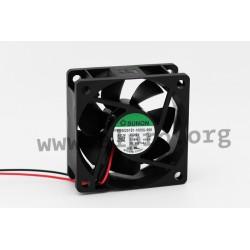 D06084380G-00, Sunon, 60x60x25mm, 12V DC, EE 60251 S1-1000U-999