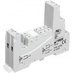 GZT80, Relpol, Relpol sockets and accessories for relpol PCB relays