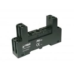 GZS80-BLACK, Relpol, Relpol sockets and accessories for relpol PCB relays