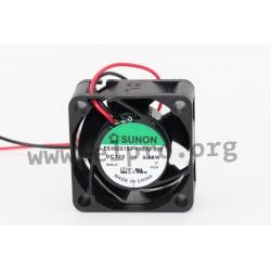 D04122860G-00, Sunon fans, 40x40x20mm, 12V DC, EE 40201 S1-1000U-999