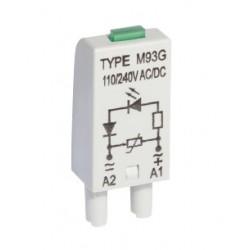 MODUL LV M93G GRAY, Relpol, Relpol sockets and accessories for relpol PCB relays