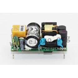 MFM-20-5, Mean Well power supplies, 20 watts, single output, medical, on board-type (open frame)