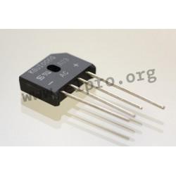 KBU1004G T0, Taiwan Semiconductor, flat rectifiers 10A