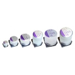 16SVF82M, Panasonic electrolytic capacitors, SMD, 125°C, polymer aluminium, OS-CON, SVF series