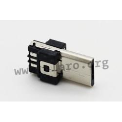 712-3-S-BS0, Micro USB connectors