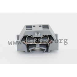261-331, 2.5mm², DIN rail, Serie 261 by Wago