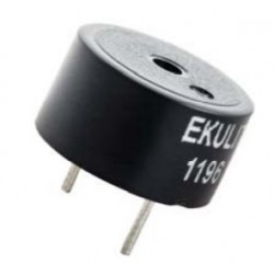 185010, Ekulit piezo buzzers with built-in drive circuit for PCB mounting, RMP series