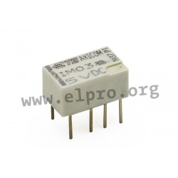 1462037-4, TE Connectivity Axicom PCB relays, 2A, DPDT, IM series
