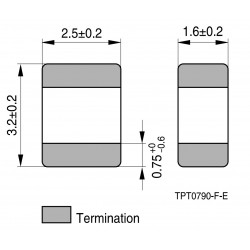 B59606A0110A062, TDK PTCs for overload protection, SMD, B59606, B59607 and B59707 series