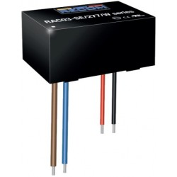 RAC03-12SE/277/W, Recom converter modules, 3W, with a stranded wire connection, RAC03-SE/277/W series