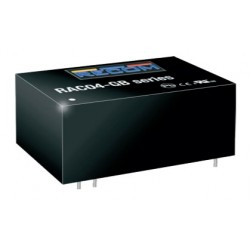 RAC04-05SGB, Recom converter modules, 4W, on board type, RAC04-GB series