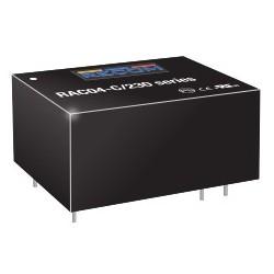 RAC04-05DC/230, Recom converter modules, 4W, on board type, RAC04-C/230 series