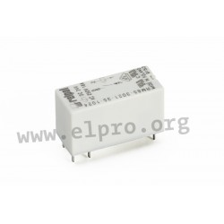 RM85-2021-35-1024, Relpol PCB relays, 16A, SPST, RM85 series