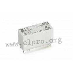 RM85-5021-25-1024, Relpol PCB relays, 16A, SPST, RM85 series