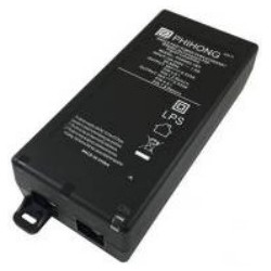 POE60U-1BT, Phihong PoE desktop switching power supplies, 60W, Hi-PoE, POE60U series