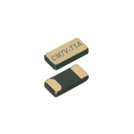 CM7V-T1A 32.768-7-10-TAQC, Micro Crystal tuning fork crystals, SMD ceramic housing, 1,5x3,2x0,65mm, CM7V-T1A series