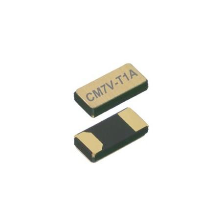 CM7V-T1A 32.768-12.5-20-TAQC, Micro Crystal tuning fork crystals, SMD ceramic housing, 1,5x3,2x0,65mm, CM7V-T1A series