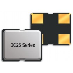 QC2527.0000F12B12R, Qantek quartz crystals, SMD housing, 2x2,5x0,6mm, QC25 series