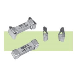160516.8GT, SIBA SMD fuses, with fuse clips, 4,5x16mm, time lag, 305V, 160516 series