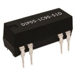 DIP05-1A72-13L, Standex Meder reed relays, DIL14 housing, DIP 13L and DIP 13D series