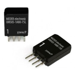 UMS05-1A80-75L, Standex Meder reed relays, SIL housing, 3A, UMS series