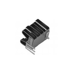 FK 237 SA 220 H, Fischer clip-on heatsinks, for TO220, FK252SA and FK237SA series