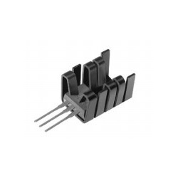FK 237 SA 220 O, Fischer clip-on heatsinks, for TO220, FK252SA and FK237SA series