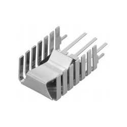 FK 243 MI 247 V, Fischer clip-on heatsinks, for TO220, TO218, TO247 and TO248, FK241SA, FK243MI and FK245MI series
