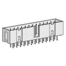SPBH40S-300Y, Speed box header, straight, pitch 2,54mm, SPBH series