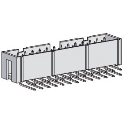 SPBH26A-3000, Speed box headers, 90° angled, pitch 2,54mm, SPBH series