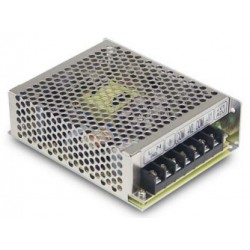 RID-50A, Mean Well switching power supplies, 50W, isolated output, dual output, RID-50 series