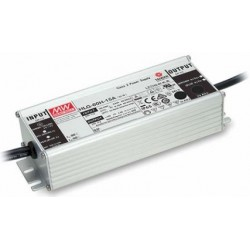 HLG-60H-24,Mean Well LED switching power supplies, 60W, IP67, fixed preset, HLG-60H series
