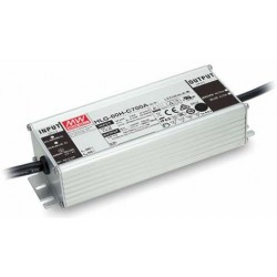 HLG-60H-C700AB, Mean Well LED switching power supplies, 70W, IP65, adjustable, dimmable, HLG-60H-C series