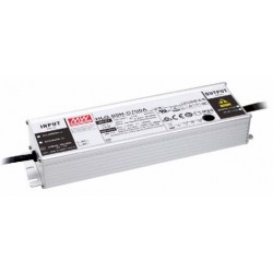 HLG-80H-C700B, Mean Well LED switching power supplies, 90W, IP67, constant current, dimmable, HLG-80H-C series