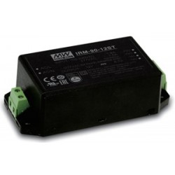 """IRM-90-12ST, Mean Well AC/DC converters, 90W, PCB, 3,43""""x2,05"""", IRM-90 series"""